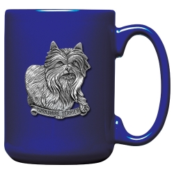 Yorkshire Terrier Cobalt Coffee Cup
