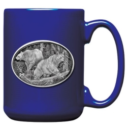 Black Bear Cobalt Coffee Cup #2