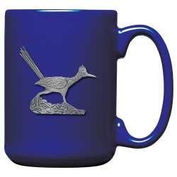 Road Runner Cobalt Coffee Cup
