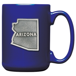 Arizona Cobalt Coffee Cup