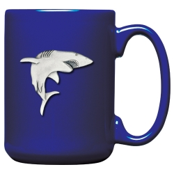 Shark Cobalt Coffee Cup