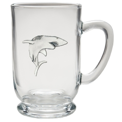Shark Clear Coffee Cup