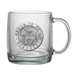 Democrat Clear Coffee Cup