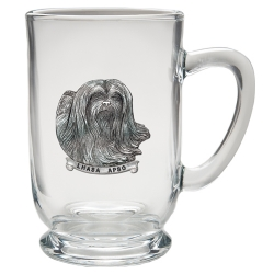 Lhasa Apso Clear Coffee Cup