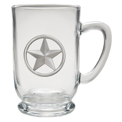 Lone Star Clear Coffee Cup