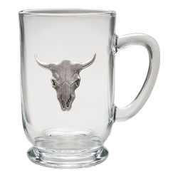 Longhorn Clear Coffee Cup