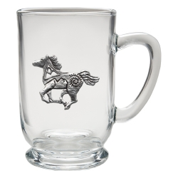 Pony Fetish Clear Coffee Cup