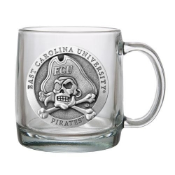 East Carolina University Clear Coffee Cup