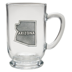 Arizona Clear Coffee Cup