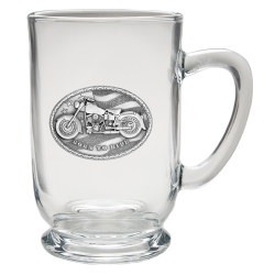 Motorcycle Clear Coffee Cup