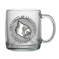 University of Louisville Clear Coffee Cup