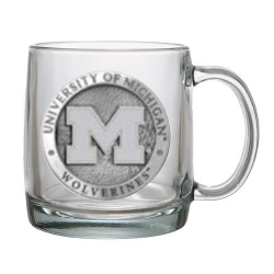 University of Michigan Clear Coffee Cup