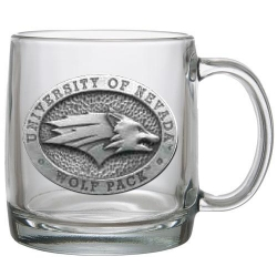 University of Nevada Clear Coffee Cup