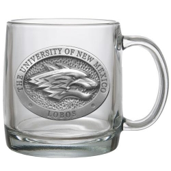 University of New Mexico Clear Coffee Cup
