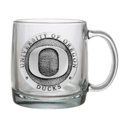 University of Oregon Clear Coffee Cup