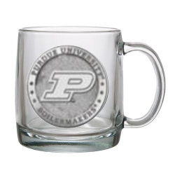Purdue University Clear Coffee Cup