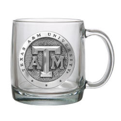Texas A&M University Clear Coffee Cup
