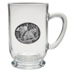 Black Bear Clear Coffee Cup #2