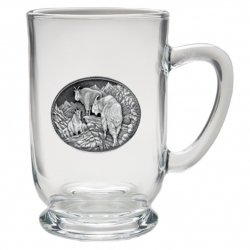Mountain Goat Clear Coffee Cup #2