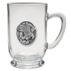 Eagle Clear Coffee Cup