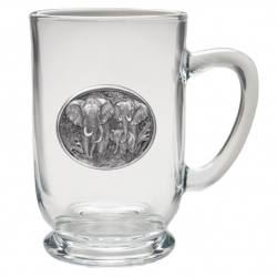 Elephant Clear Coffee Cup