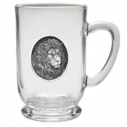 Lion Clear Coffee Cup