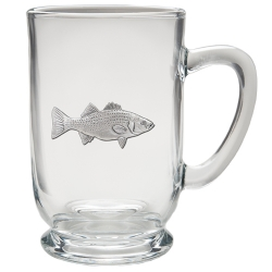 Striped Bass Clear Coffee Cup