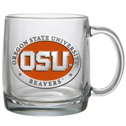 Oregon State University Clear Coffee Cup - Enameled
