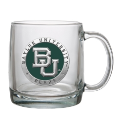 Baylor University Clear Coffee Cup - Enameled