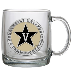 Vanderbilt University Clear Coffee Cup - Enameled