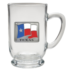 Texas Clear Coffee Cup - Enameled