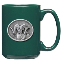 Chadwick Ram Green Coffee Cup