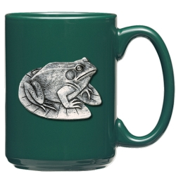 Frog Green Coffee Cup