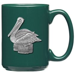 Pelican Green Coffee Cup