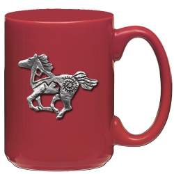 Pony Fetish Red Coffee Cup
