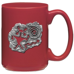 Shaman Red Coffee Cup