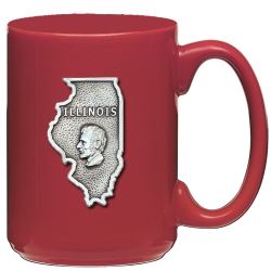 Illinois Red Coffee Cup