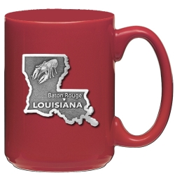 Louisiana Red Coffee Cup