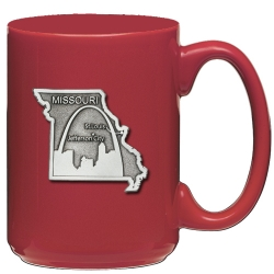 Missouri Red Coffee Cup