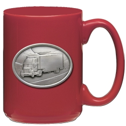 Truck Red Coffee Cup