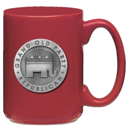 Democrat Red Coffee Cup