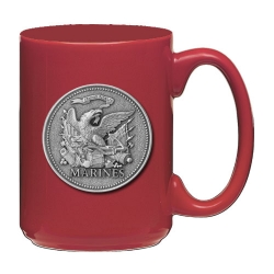 "Marine Corps ""USMC"" Red Coffee Cup"
