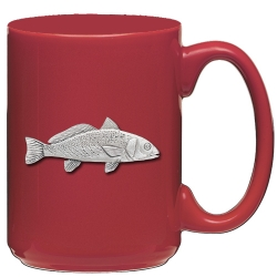 Red Fish Red Coffee Cup