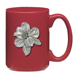Apple Blossom Red Coffee Cup