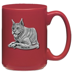 Boxer Red Coffee Cup