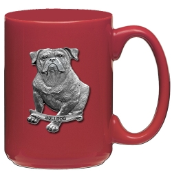 Bulldog Red Coffee Cup