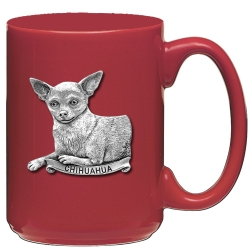 Chihuahua Red Coffee Cup