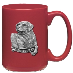 Labrador Retriever Red Coffee Cup