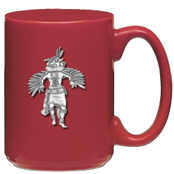 Eagle Kachina Red Coffee Cup