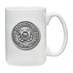 Coast Guard White Coffee Cup